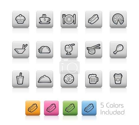 Photo pour Chaque couleur dans un calque. Pour voir la couleur souhaitée, vous devez la rendre visible dans le panneau des calques -- EPS 10- Contient des transparences - image libre de droit