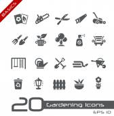 Gardening Icons -- Basics