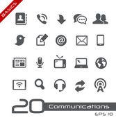Communications Icon Set -- Basics