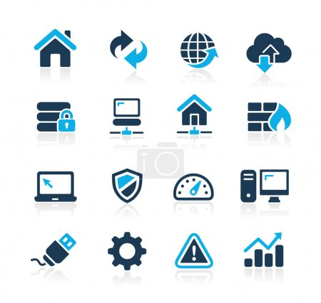Web Developer Icons -- Azure Series