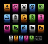 Energy and Storage Icons -- ColorBox Series