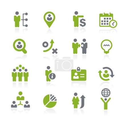 Human Resources Icons -- Natura Series