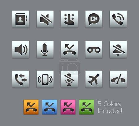 Phone Calls Interface Icons -- Satinbox Series
