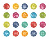 Vector icons for your web mobile or print projects