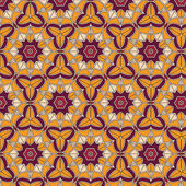 Abstract geometric background composed of vintage colors bricks