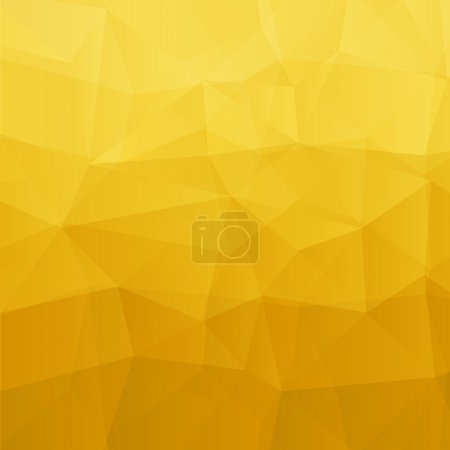 Illustration for Abstract yellow background. Vector illustration. Clip-art - Royalty Free Image