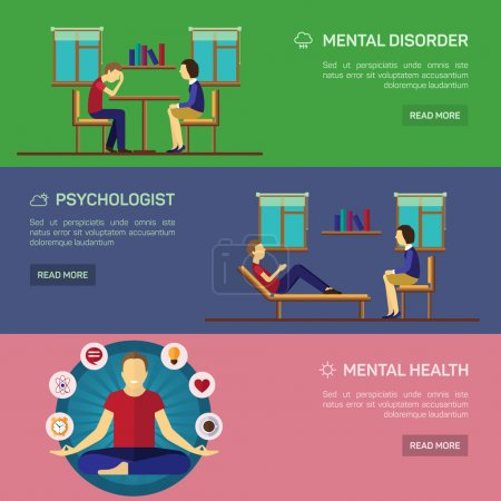 Mental disorder psychological treatment