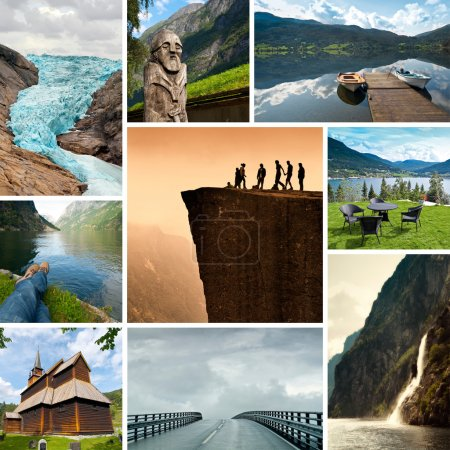 Photo for Norway Collage - Royalty Free Image
