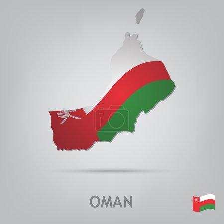 Постер, плакат: Country oman, холст на подрамнике
