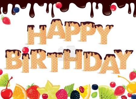 Happy Birthday sweet Banner