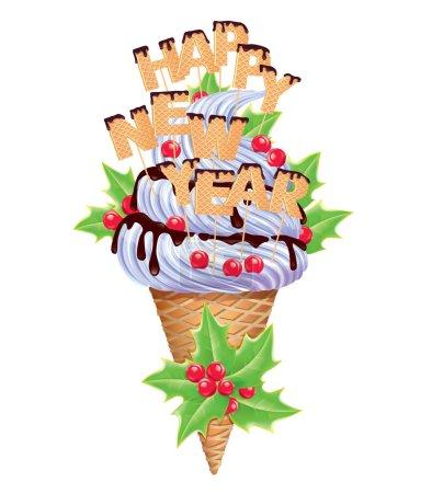 New year ice creams