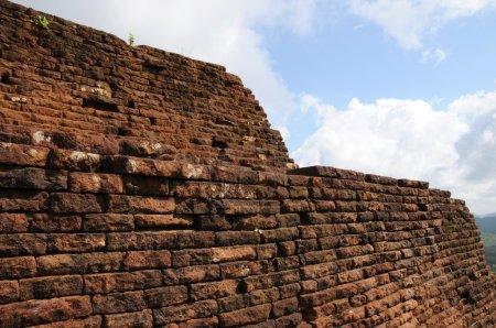 Sigiriya is an ancient mountain