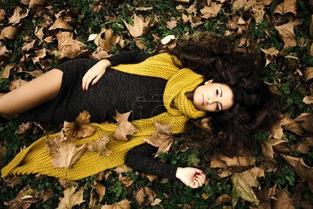 woman autumn beauty