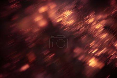 Photo pour Rayons de lumière défocalisés, motion blur - image libre de droit