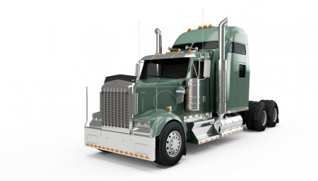 Dark State Gray american truck