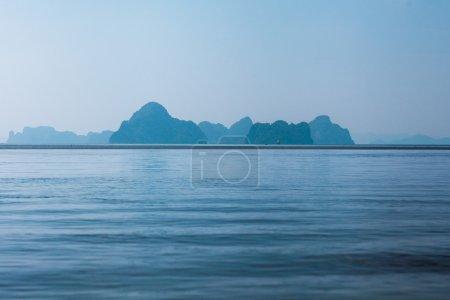 island in sea.