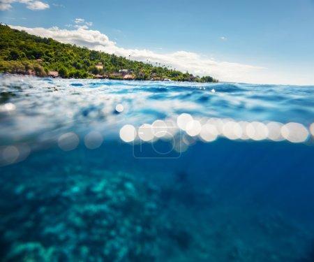 Bali island underwater