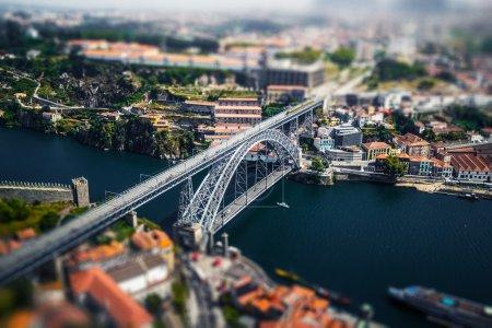 City of Porto aerial view