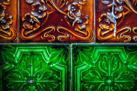 Portuguese colorful tiles