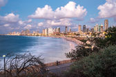 City of Tel Aviv from the coast