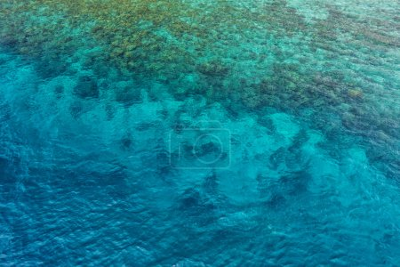 clear sea water surface