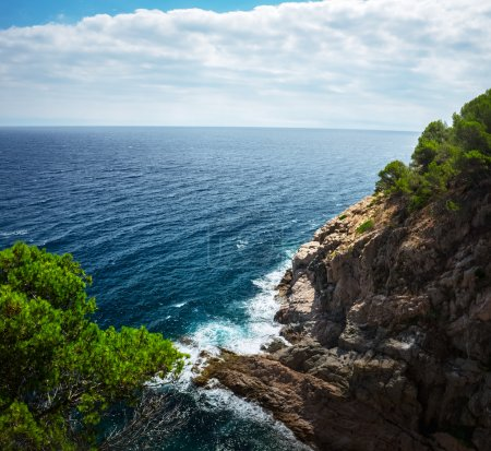Sea with rocks, Tossa de Mar