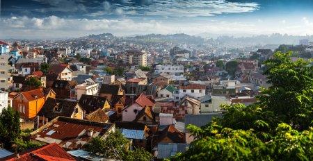 Город Мадагаскара Антананариву
