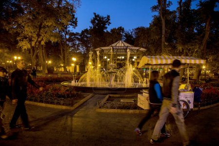Odessa, Ukraine - October 15, 2014: Park of Culture and Rest in