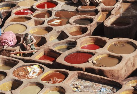 tannery of fez