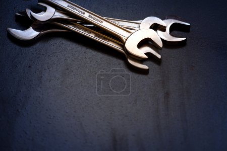 Set of the stainless steel wrench
