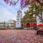 Постер, плакат: Panama Cathedral Sal Felipe Old Quarter UNESCO World Heritage Site Panama City Panama Central America
