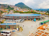 Bus terminal in Manizales city, Colombia