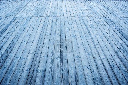 Wooden boards floor