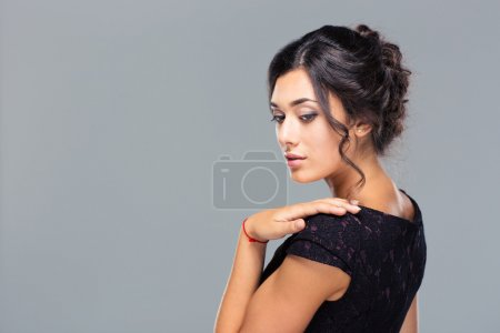 Beauty portrait of attractive woman