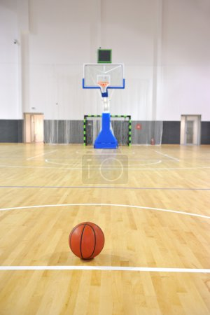 Basketball court, sports hall