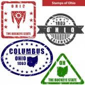Stamps of Ohio USA