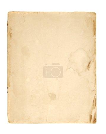 Plain vintage paper background