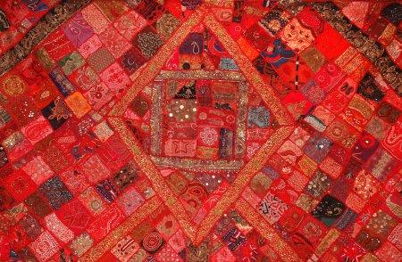 Indian vintage rug background