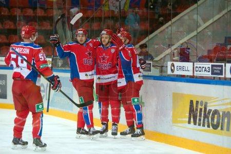 Hockey match CSKA - Severstal