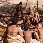 SOUTHERN AFRICA, KALAHARI DESERT: Southern San (or...