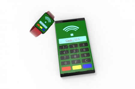 smart phone as a mPos machine in the mobile scense