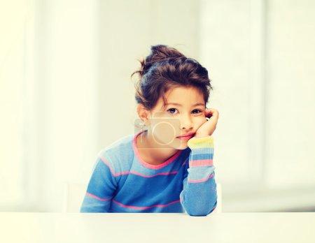 student girl at school