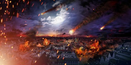 Photo for Conceptual photo of the scary apocalypse - Royalty Free Image