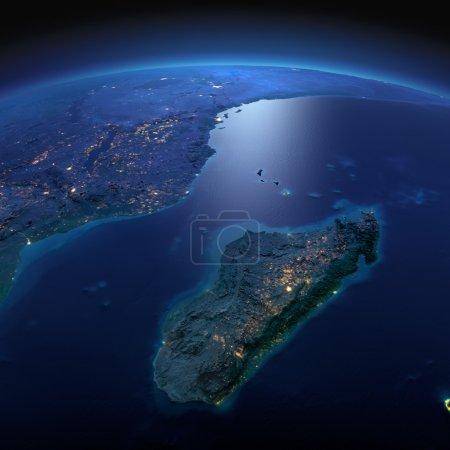 Вся земля Африки и Мадагаскара