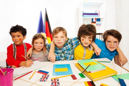 Kids learning languages