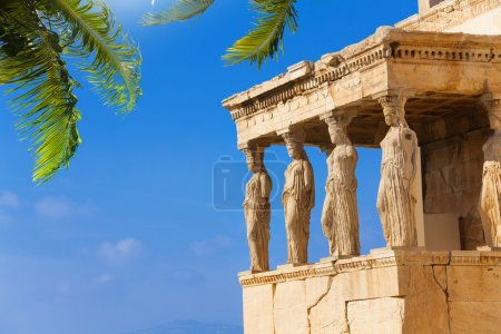 Beautiful view of Erechtheion