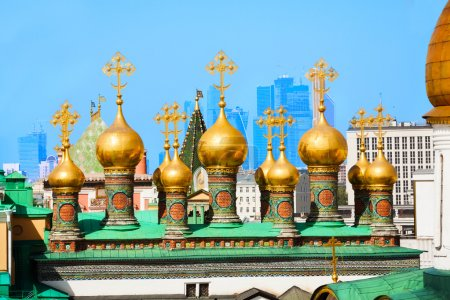 Domes of Upper savior Cathedral
