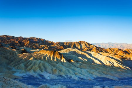 Photo for Morning view of the Death Valley mountains panorama, California USA - Royalty Free Image