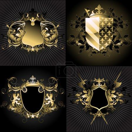 Ornamental shields