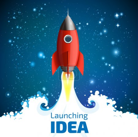 Rocket - launching idea